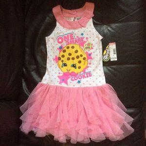 shopkins dresses nwt one smart cookie dress size 6 poshmark